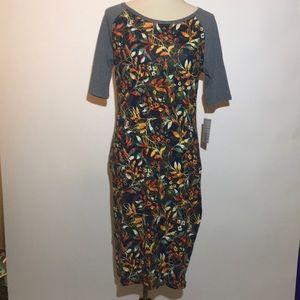 NWT LuLaRoe Julia Dress - M
